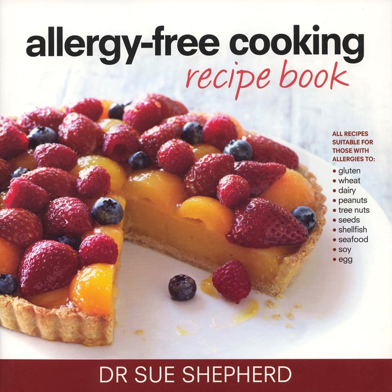 Allergy Free Cooking Recipe Book