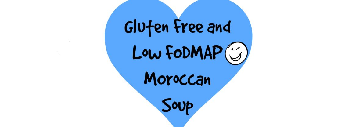Gluten Free and Low FODMAP Moroccan Soup